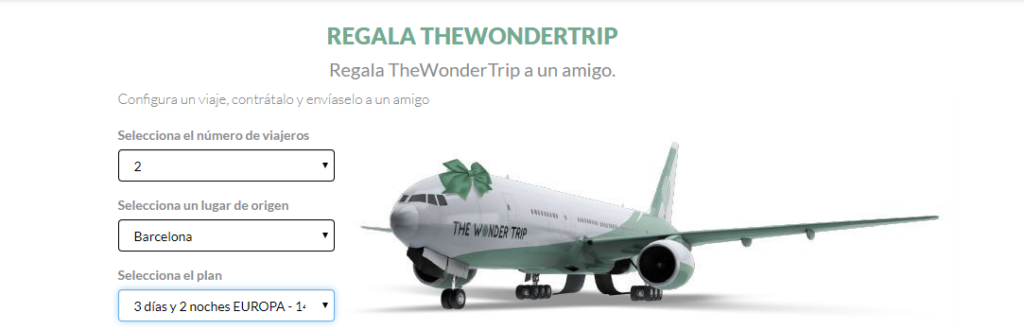 Regalo The Wonder Trip